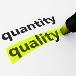 The Balance Between Quality And  Quantity On Social Media