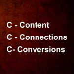 What Are The 3 C's Of <br>Social Media Marketing?